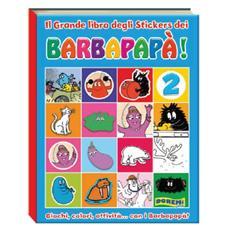 Barbapapa' - Grande Libro Stickers 2