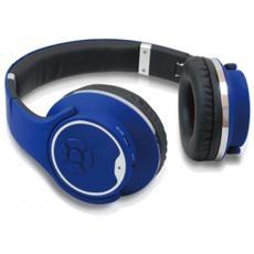 Cuffie con Microfono per PC Connessione Bluetooth Blu 10 m