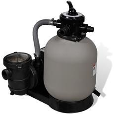Pompa con Filtro a Sabbia 600 W 17000 l / h