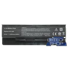 Batteria Notebook compatibile 5200mAh per ASUS N56 10.8V 11.1V 6 celle pila 57Wh