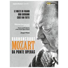 Dvd Mozart-da Ponte Operas-cosi' Fan Tut