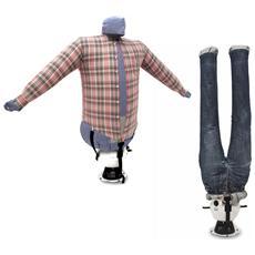 Stira Asciuga Camicie Pantaloni In Automatico Stirasciugatore Sa04 Inox Manichino Ad Aria Calda