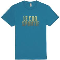 T-shirt Uomo Ligne Logo Xl Azzurro