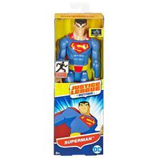Justice League Action Superman O 30cm Articolato - Mattel Fbr03 Dc