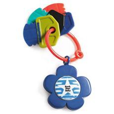 Anello Dentizione Musicale Fiore Blu