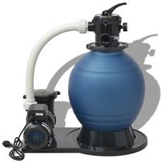 Pompa Con Filtro A Sabbia 1000 W 22500 L / h