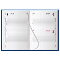 Agenda 2020 Nero Giornaliera Diario Planning 15x8 Cm Tascabile Copertina Rigida Inserto Cartografico 136 Pagine
