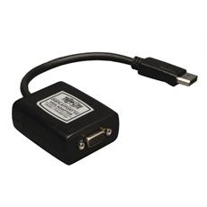 Tripp Lite P134-06N-VGA DisplayPort HD15 Nero cavo di interfaccia e adattatore