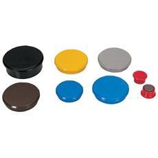 conf. 10. Magneti d. 24 rosso. diametro 24mm R955243