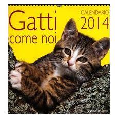 Gatti come noi. Calendario 2014
