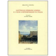 Gotthold Ephraim Lessing e i suoi contemporanei in Italia