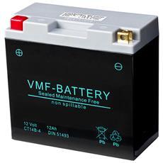 Batteria Agm 12 V 12 Ah Fa Yt14B-4