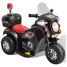 Motocicletta Per Bambini A Batteria (nero)