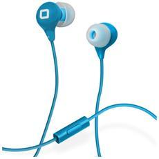 Auricolare in-ear Studio MIX35 colorato con Microfono, tasto risposta e fine chiamata - Blu