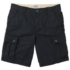 Shorts Cargo Uomo 30 Nero
