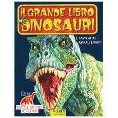 Il grande libro dei dinosauri. Animali scomparsi da colorare. Ediz. illustrata