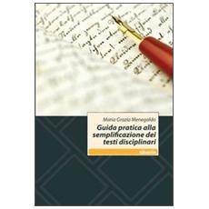 Guida pratica alla semplificazione dei testi disciplinari