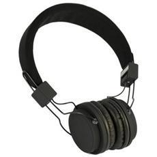 Cuffie Audio ripiegabile con Microfono - Nero