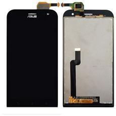 Ricambio Lcd + Touch Screen Unit Digitizer Schermo Display Originale Per Zenfone Zoom Zx551ml Nero + Kit Attrezzi Smontaggio