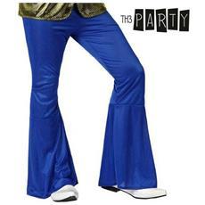 Pantalone Per Adulti Th3 Party Disco Azzurro Xs / s
