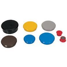 conf. 10. Magneti d. 32 rosso. diametro 32mm R955323