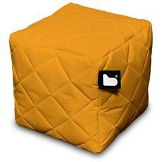 Pouf Outdoor B-box Orange Trapuntato