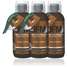 Zuccari - Aloe Ofm Con Aloe Arborescent 3 Bottiglie X 500ml