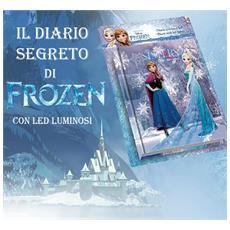 Frozen Diario Segreto Magico Anna E Elsa Con Led Per Scuola Hobby Bambini