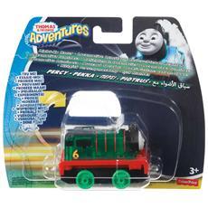 Dxv24 - Il Trenino Thomas - Adventures - Veicolo Luminoso Percy