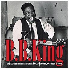 B. B. King - United Western Recorders Hollywood La, October 1 1972 (2 Lp)