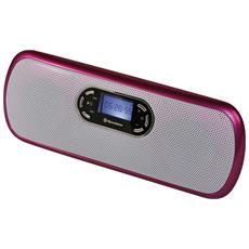MM-007N / PK, MP3, Rosa, Digitale, Flash-media, microSD (TransFlash) , LCD