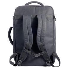 Tugò, Nero, Back pocket, Front pocket, Cerniera, 335 x 180 x 535 mm