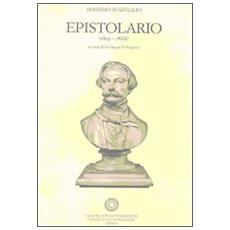 Epistolario (1819-1866) . Vol. 7: 19 settembre 1851-4 novembre 1852.