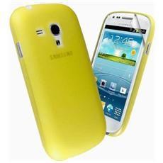 Cover Custodia Brinata Ultra Slim Tpu - Giallo - Samsung Galaxy S2