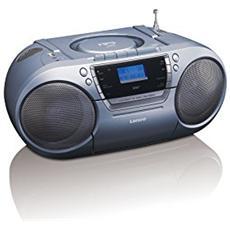 Stereo Portatile Boombox con Radio DAB + / Lettore CD / MP3 Colore Blu