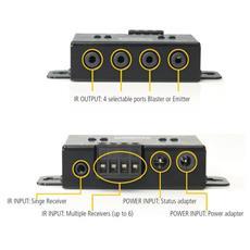 IR Control 11 XTRA, 100-240V, 50/60 Hz, 40 x 13 x 11 mm, 95 x 46 x 20 mm