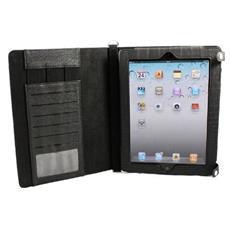BLACK-PAD BAG Custodia a libro Nero compatibile Apple iPad 2