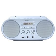 Stereo Portatile ZS-PS50 Lettore CD Supporto MP3 / WMASintonizzatore FM / AM Ingresso Audio USB colore Blu