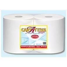Carta Attiva Asciugamani Industriale 800 Strappi 2rotoli