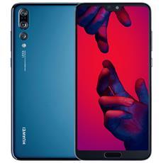 "P20 Pro Blu 128 GB 4G / LTE Dual Sim Impermeabile Display 6.1"" Full HD+ Slot Micro SD Fotocamera 40 Mpx Android Italia"