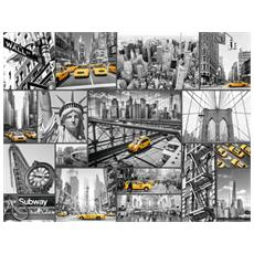 RVB16354 Macchie Di Colore A New York - Puzzle da 1500 Pezzi