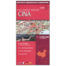Cina 1:4.000 000. Ediz. multilingue