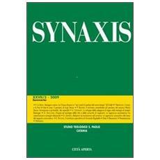 Quaderni di Synaxis. Vol. 27/3