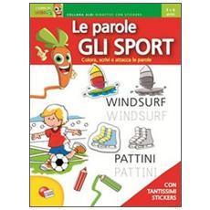 Le Parole Gli Sport Con Stickers