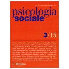 Psicologia sociale (2015) . Vol. 3