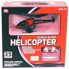 Elicottero Radiocomandato Con Telecomando Helicopter Double Balde *04346