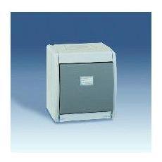 4490150-035-pulsante Grigio 10ax A, Attacchi Ip55