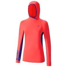 T-shirt Donna Warmalite Phenix Hoody S Rosso Blu