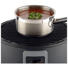 Barbecue Portatile A Carbone 35 Cm Nero 99335