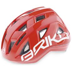Casco ciclismo bike junior in-moulding technology PAINT rosso 013594 Taglia ONE